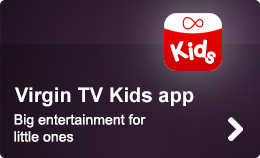 Virgin TV Kids app