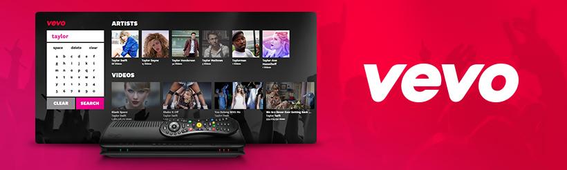 VEVO on Virgin Media