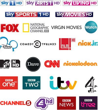 TV channels and On Demand shows & movies from Virgin Media