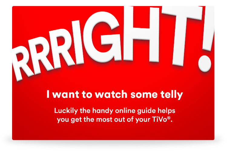 Virgin Media - TiVo Getting Started