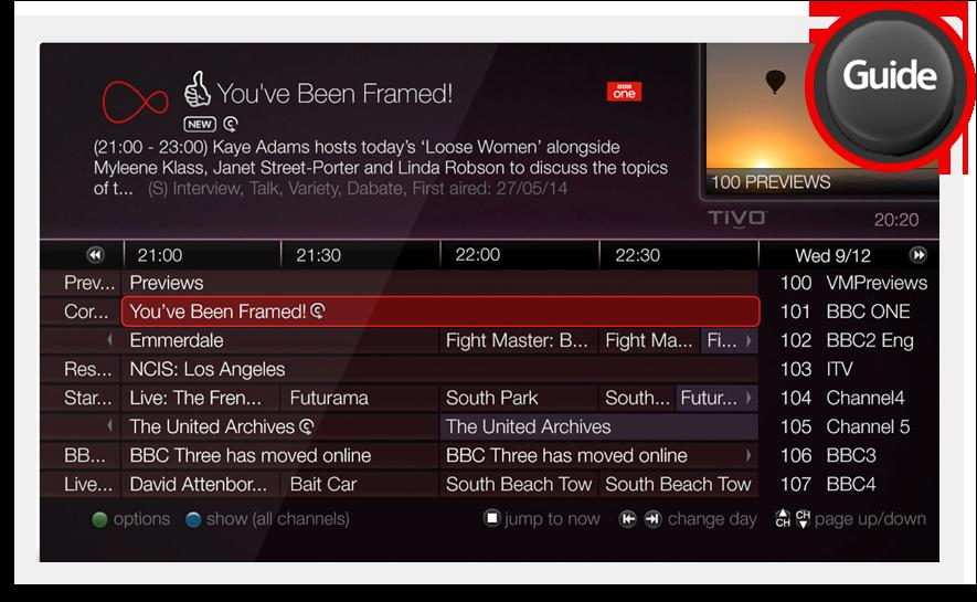 Virgin Media - Watching