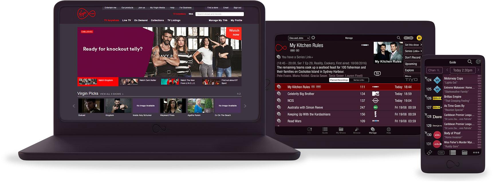 Virgin media tv on the go - Tv und mediamobel ...